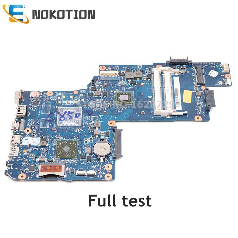 NOKOTION H000042200 H000052450 Laptop Motherboard For Toshiba Satellite C850D L850D H000051810 REV 2.1 E1200 DDR3 Main Board