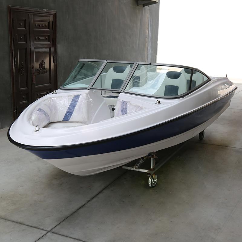 Luxury 7/9 Seats Yacht FRP Speed Boat Speedboat Leisure Boat SEA Fishing Boat Fiberglass Ship High Speed Fishing Vessel