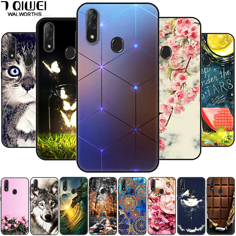 For <font><b>Samsung</b></font> A70 <font><b>Case</b></font> Black Silicone Soft Bumper Back Cover for <font><b>Samsung</b></font> <font><b>Galaxy</b></font> <font><b>A40</b></font> A20E A10 <font><b>Phone</b></font> <font><b>Cases</b></font> TPU A 40 Fundas Cartoon image