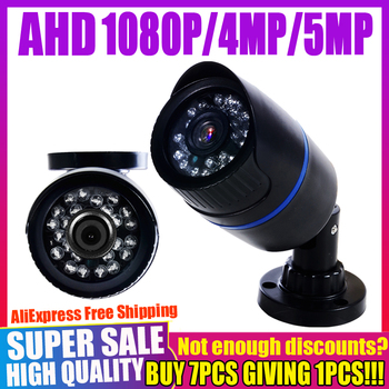 REAL SONY CHIP 720P 1080P 4MP 5MP AHD CAMERA 2MP Digital FULL HD Mini CCTV Security Surveillance CAMERA Outdoor Waterproof IP66 owlcat sony full hd 2 0mp 1920 1080p license plate recognition lpr camera outdoor waterproof ip66 license plate capture camera