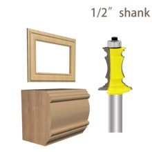цена на 1/2 Shank 1-1/2 Miter Frame Molding Router Bit mill fresas para metal  Line knife Door knife Tenon Cutter for Woodworking Tools