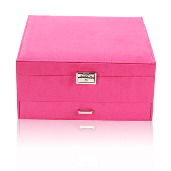 Luxury Practical Flannel Jewelry Box