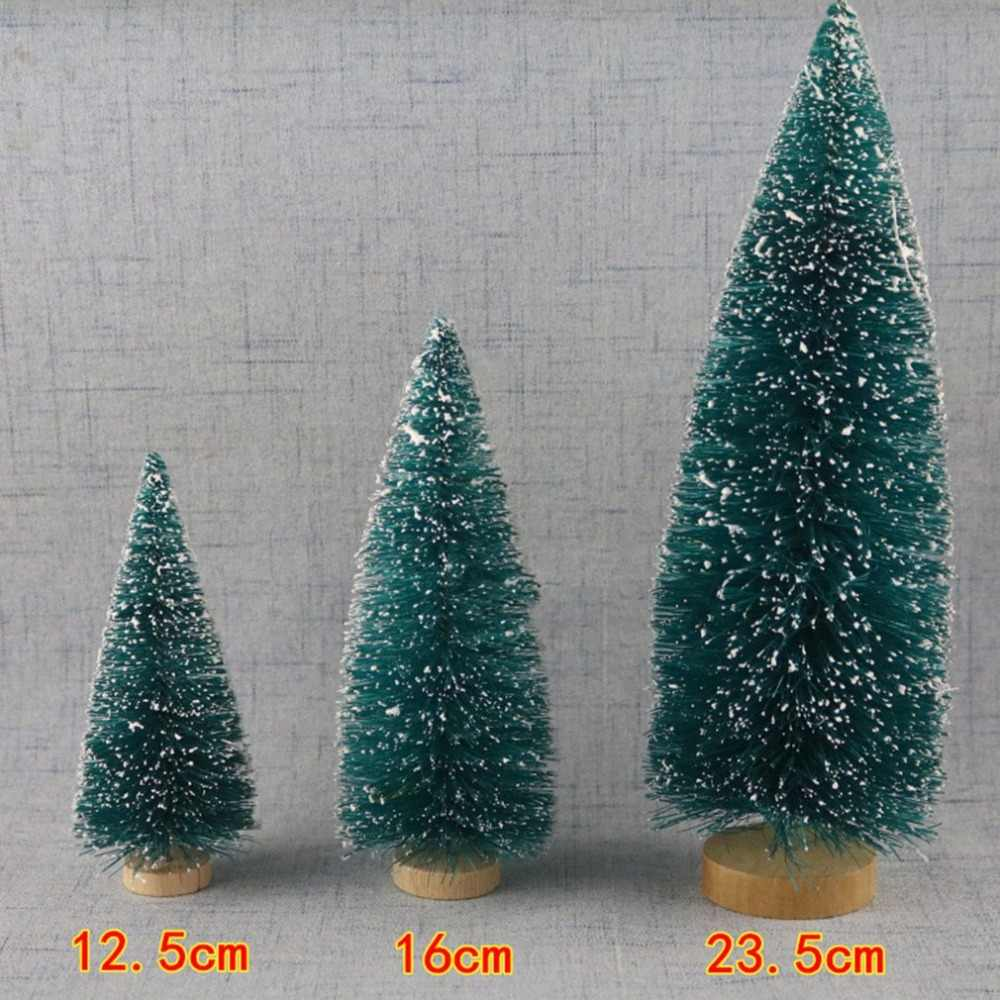 1 Cái Tự Làm Cây Giáng Sinh Cây Thông Nhỏ Mini Cây Được Đặt Trong Máy Tính Để Bàn Trang Trí Nhà Trang Trí Giáng Sinh Trẻ Em Quà Tặng