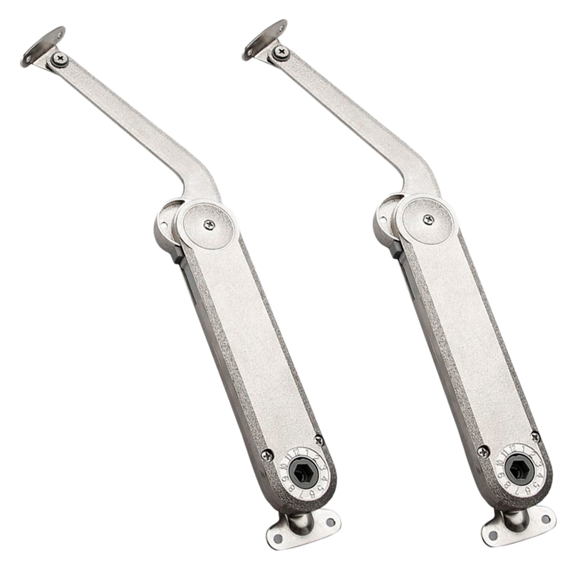 2 Pack Heavy Duty Lid Support Hinge for Cabinets Kitchen Support Max Weight Support 80Lb