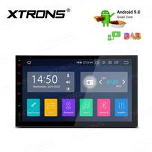 "XTRONS 7 ""Android 9,0 Universal Car Radio Multimedia reproductor estéreo GPS navegación DAB + TPMS Bluetooth FM WIFI USB 2 Din NO DVD(China)"