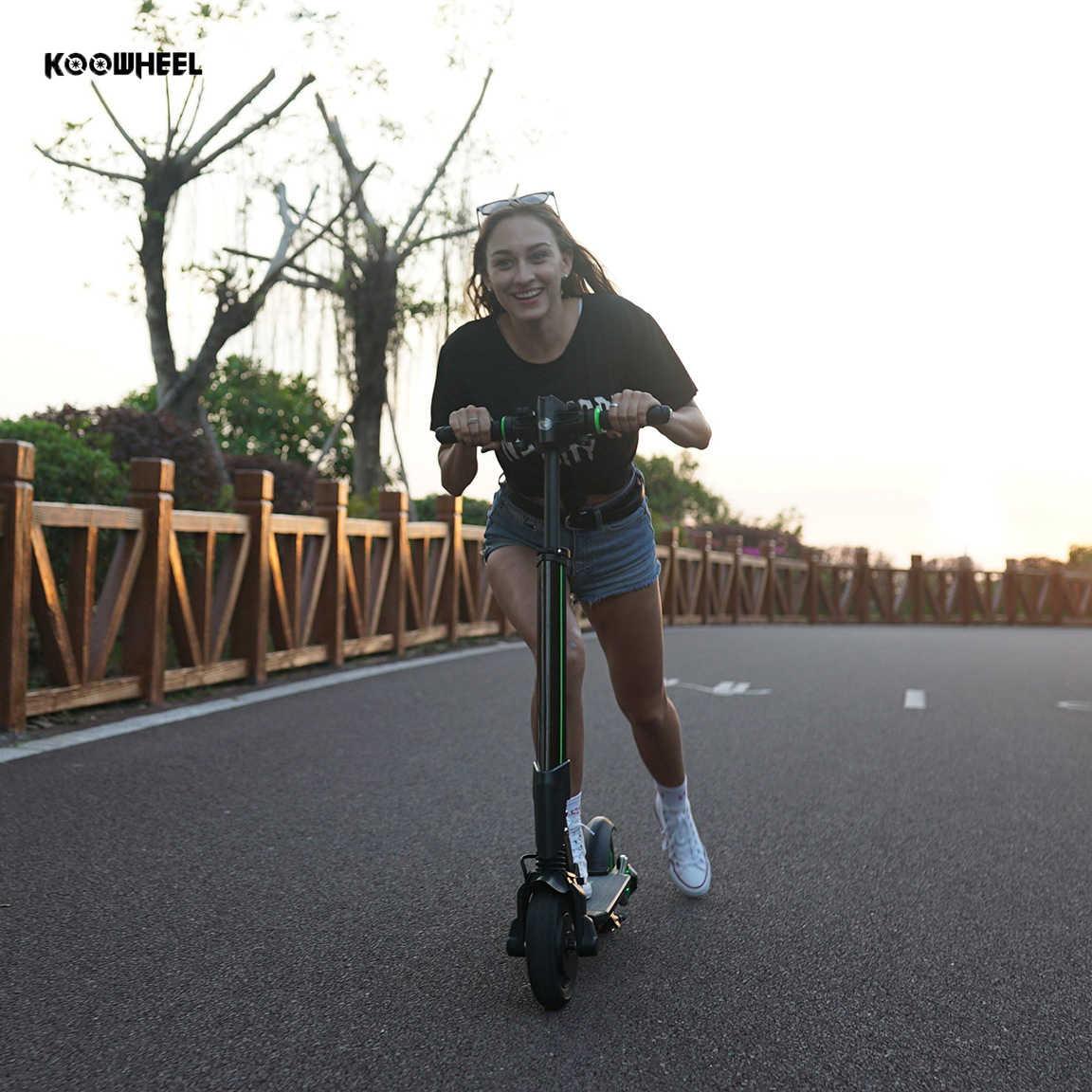 2019 Koowheel Elettrico Scooter Calcio 6000mAh Pieghevole e-Scooter 2 ruote Elettrico di Skateboard Patinete Electrico Adulto