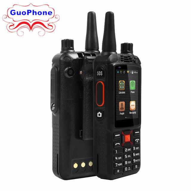 F22 walkie talkie smartphone ip68 impermeável 3g gps wifi duplo sim 5mp zello walkie talkie conversa android áspero smartphone