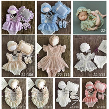 Jane Z Ann Baby girls studio shooting outfits infant newborn/1 year lace sweet princess twins clothing photography props