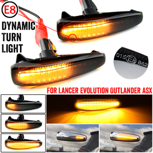 Turn Signal Lamp LED For Mistubishi Outlander Sport Mirage Sport Lancer Evolution X Light Car Dynamic Side Marker Blinker