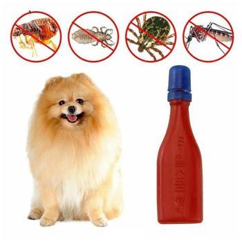 Pet insektycyd Flea wszy do zabijania owadów Spray roztocza kleszcze krople dla psów kot szczenięta kocięta leczenie odstraszacz szkodników tanie i dobre opinie Pet Insecticidal Drops