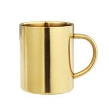 Чашка для воды, кофе контейнер для принадлежностей 450 мл из нержавеющей стали с двойными стенками