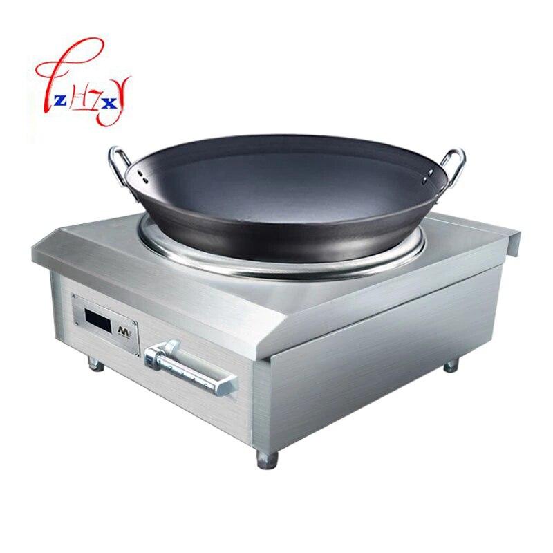 Промышленная вогнутая индукционная плита 8 кВт, электромагнитная плита, промышленная электрическая печь для жарки, приготовление пищи с подогревом, 1 шт. 6