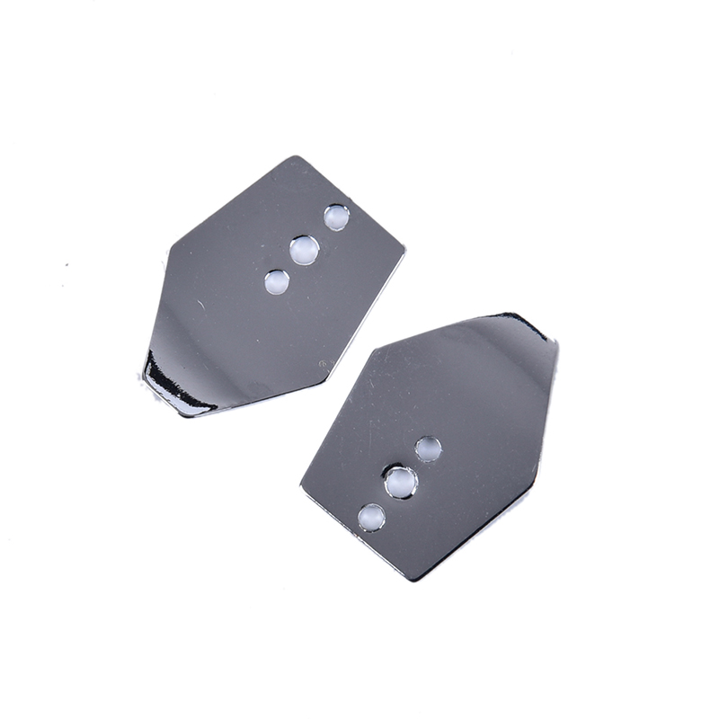 10pcs Stainless Steel Chatterbait Blade, Swim Jig Blades, Shakee Blades,Swim Jig Dancer 2.1cm x 1.6cm-4