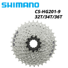 Shimano acera HG201-9 9s velocidade 11-32t 11-34t 11-36t mountain bike cassete sprocke mtb bicicleta hg200 hg400 hg2019 roda livre