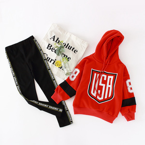 Image 4 - Girls Clothes Sets Hoodies Legging Suits 6 8 10 Years Kids Outfit Spring Autumn Children Clothing
