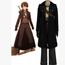 Аниме меч искусство онлайн косплей Kirigaya Kazuto Высококачественная форма набор карнавальый костюм для хеллоуина костюм