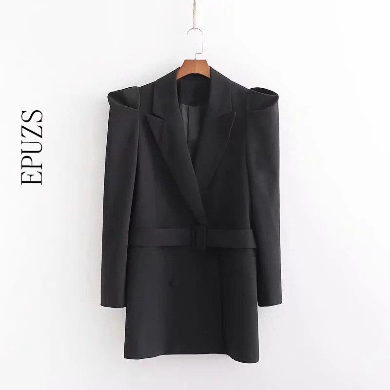 Autumn Long Sleeve Blazer Blazer Women Elegant Work Office Women Blazers And Jackets Casual Lady Long Blazer Korean Suit Jacket