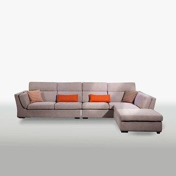 Мебель для гостиной Угловой Тип дома хлопок Пуховый диван