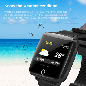 Image 4 - Lenovo Watch Sport Smart Wristband 1.3 Inch 2.5D IPS Screen IP68 Deep Waterproof Weather Display Heart Rate Monitoring Watch