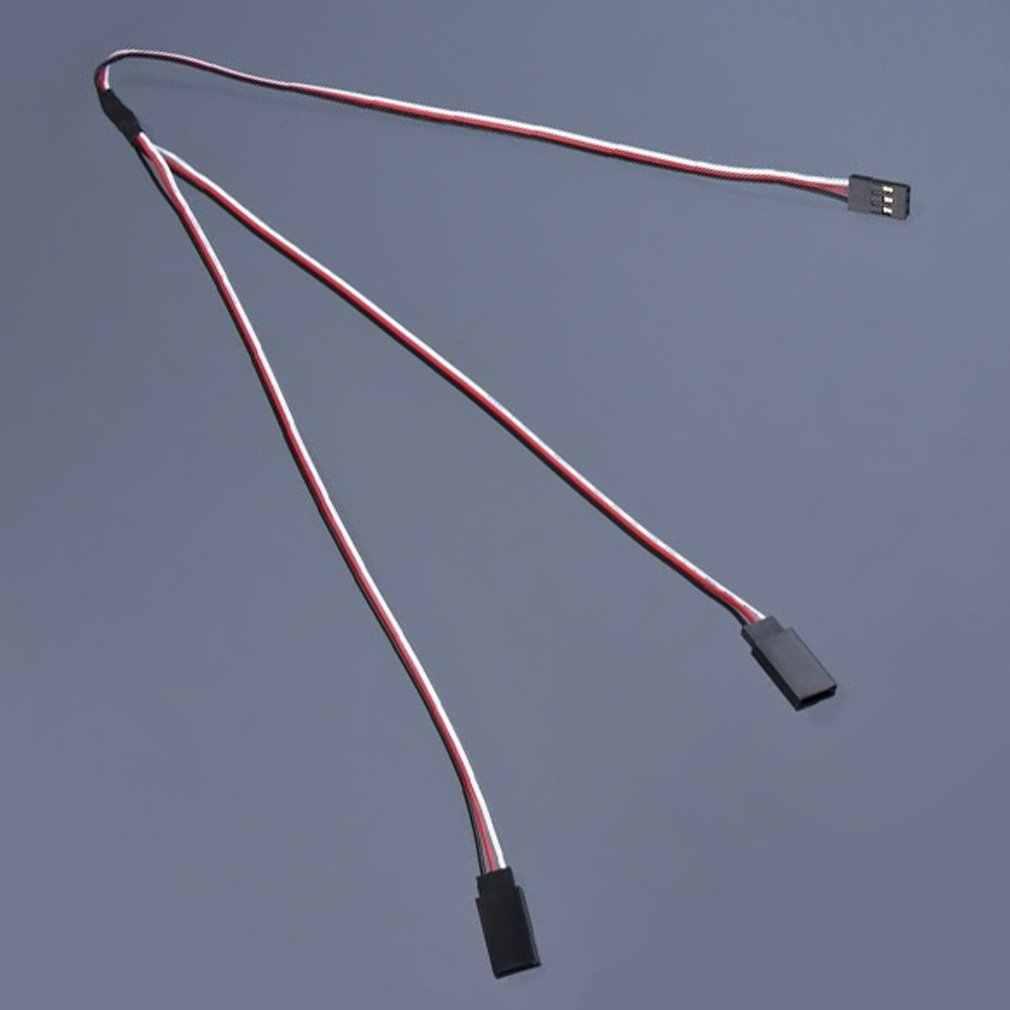 500mm Y Split uprząż kabel serwo prowadzi przedłużacz serwo Y przedłużacz kabla do Futaba JR samolot helikopter