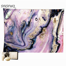 Фиолетовый камень настенное одеяло в спальню, декоративный домашний, мебельно-декоративная ткань, Настенный Ковер