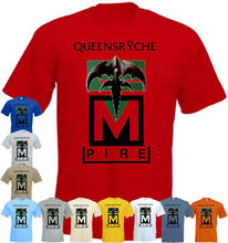 Queensrÿche Empire V4 T Shirt Red Yellow White Blue Heavy Metal All Sizes S-5xl Harajuku Tops Fashion Classic Tee Shirt(China)