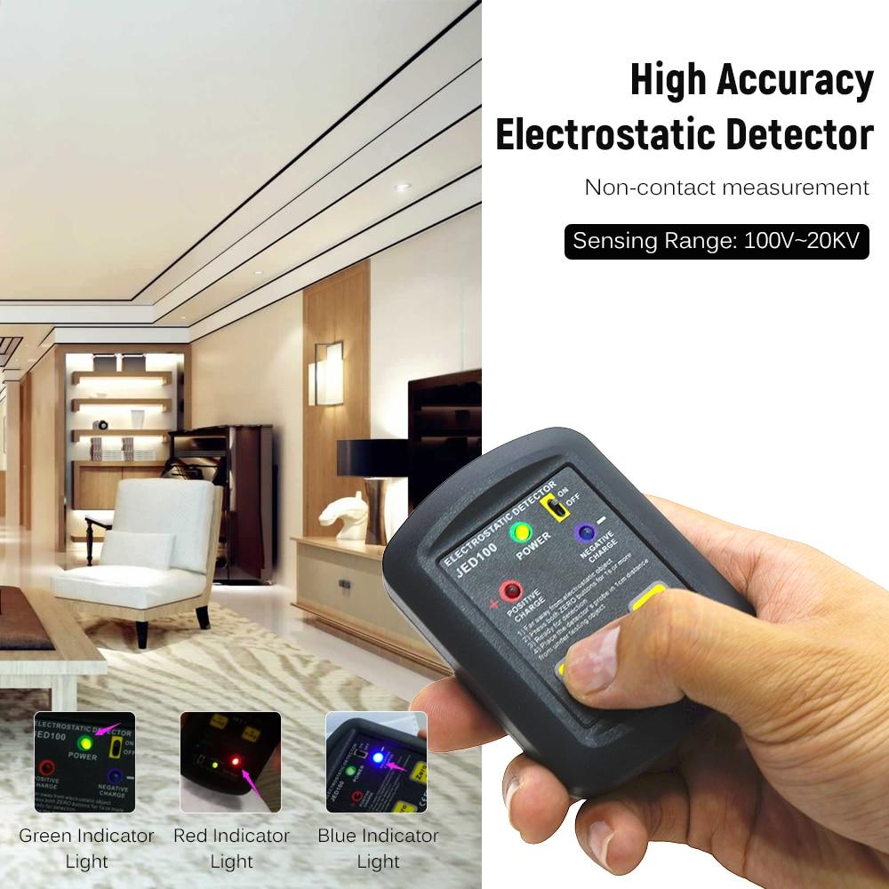 Details about  /Palm-size Electrostatic Detector Portable Electrostatic Tester 100V~20KV D0B4