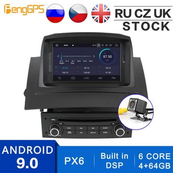Android 10.0/9.0 Autoradio for Renault Megane 2 Fluence 2002-2008 GPS Navigation Built-in DSP CD DVD Player Multimedia Head Unit