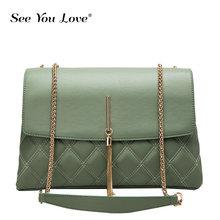 купить Fashion 2019 Tassel Chain Women Bags Designer Shoulder handbags Evening Clutch Bag Messenger Crossbody Bags For Women handbags дешево