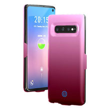 For Samung Galaxy S10 Plus Power case 7000mAh Battery Case Power bank Case For Samsung Galaxy S10 S10E Battery Charger Case(China)