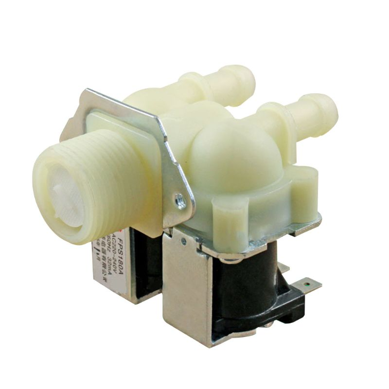1PC Universal Water Double Inlet Valve Replacement for Washing Machine Laundry Home Electrical Appliance Accessories Parts
