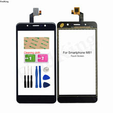 Mobile Touch Screen For Smartphone M81 Touch Panel Front Glass Digitizer TouchScreen Lens Sensor Tools 3M Glue