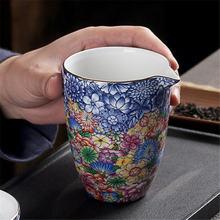 Цветные керамические кружки для чая кофейные чашки суповая пара