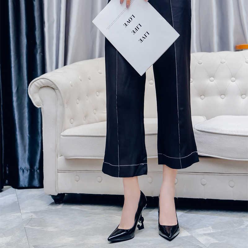 Neuheit Seltsame Stil Heels Pumps Frauen Echtes Leder Sexy Symbol In Heels Spitz Flach Super Heels Frauen Schuhe Partei