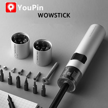 Wowstick 12 in 1 Dual Power Lithium Electric Screwdriver 3LED Lights Rechargeable Screw Driver Kit Magnetic Suction One Button