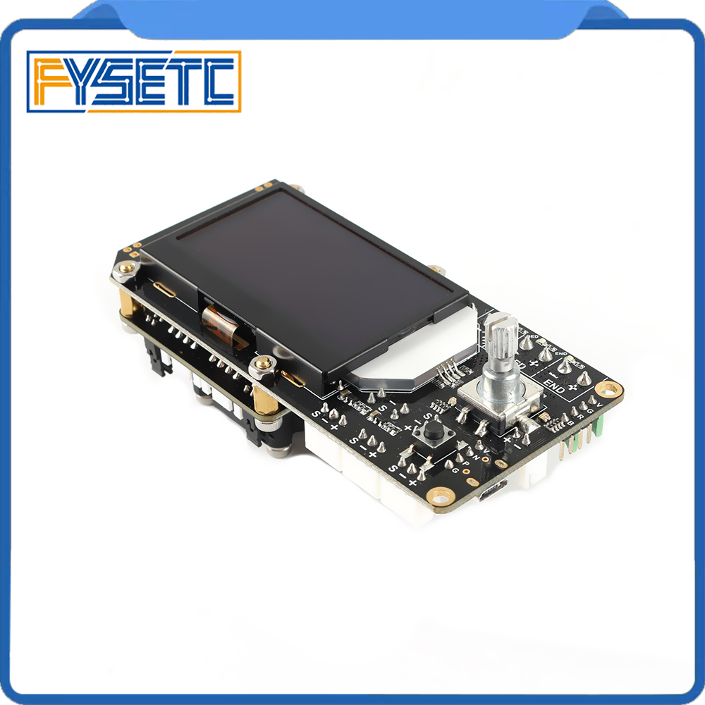 Image 4 - AIO II V3.2 Mainboard All in One II 32 Bit MCU 32bit ST820 Driver 256 Microsteps Controller Board Support Marlin For 3DP/CNC-in 3D Printer Parts & Accessories from Computer & Office