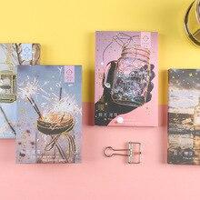 Glow Postcard Bussiness Birthday Journal-Decoration Sunset DIY Bronzing 30-Sheets/Set