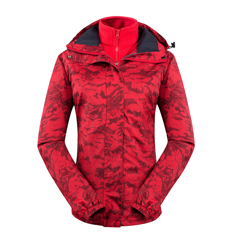 Ski Jackets Women Thicken Warm Windproof Waterproof Rain Coat Outdoor Trekking Hiking Jacket Winter Snow Skiing Snowboard Jacket