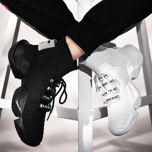 Image 4 - Sourire quatre saisons m. Avec le même paragraphe, chaussures au filet tendance, vieilles chaussures résistantes à lusure, décontractées