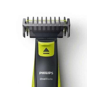 Image 3 - Philips QP2520 OneBlade Elektrische Rasierer Wiederaufladbare mit NimH Batterie Hält Bis Zu 4 Monate Unterstützung Wet & Dry für Männer der Rasierer