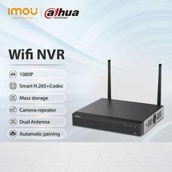 Dahua Imou Wi-Fi Netzwerk Sicherheit System 8CH Wireless NVR 1080P Auflösung Starke Metall Shell entspricht ONVIF Standards