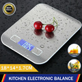 kitchen Scales Digital LCD Screen Weighing 5KG Household Tools Non-slip Electronic Stainless Steel Food Weight Scale OZ /Ml /Ib