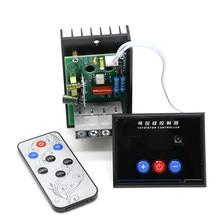 AC 220V 6KW 6000W SCR sterowanie cyfrowe elektroniczny Regulator napięcia kontrola prędkości ściemniacz termostat AC-AC Buck Power with Remote