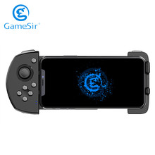 GameSir G6 Bluetooth Wireless Mobile Game Controller Gaming Touchroller for Android Phone PUBG Call of Duty   Black