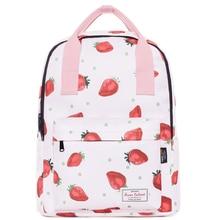 Pink Backpack Women Travel Bagpack Oxford New Junior High School College Student Backpack Large Capacity Waterproof Bookbags