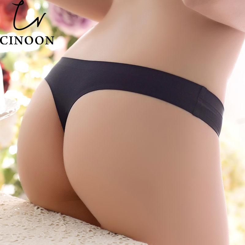 Frauen Damen Unterhosen Tanga Dame Damen Spitze 100/% Seide Seide Schlüpfer