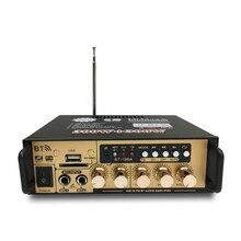 Hot 3C 600W Audio Eindversterker Met Eu Plug 12/220V 2CH Mini Hifi Bluetooth Digitale Audio Amp Voor thuis/Auto