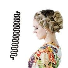 Инструмент для плетения волос, ролик с крючком, волшебные волосы, твист, укладки, пучок, Мишура, вязаный пинцет, волос, Женский какалон