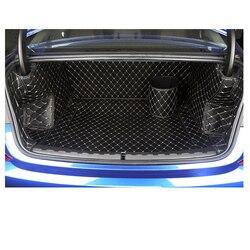 Lsrtw2017 skórzany samochód bagażnika skórzane Cargo Liner dla BMW serii 3 G20 320 325 330 335 2020 dywan dywan akcesoria na
