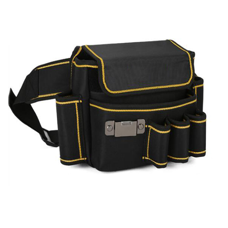 Tool Pockets Multi-Function Waist Kit Adjustable Belt Tool Bag Repair Kit Thick Oxford Cloth Tool Bag Electrician Pocket